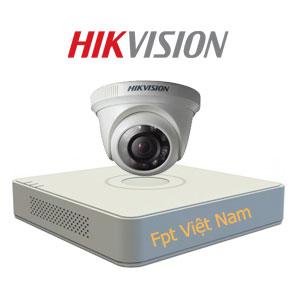 Lắp đặt 1 camera HIKVISION