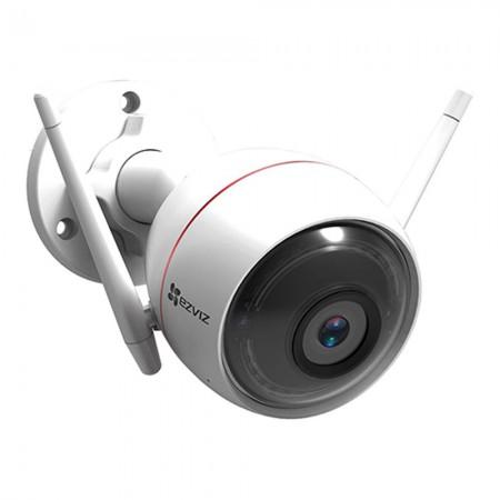 Camera EZVIZ Wifi ngoài trời 2 MP - tích hợp còi - đèn chớp