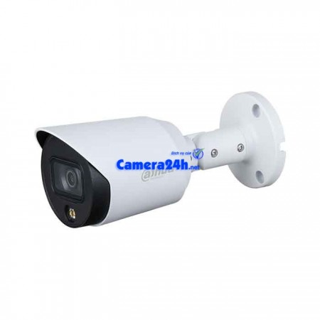 Camera HDCVI 2MP Full Color DAHUA DH-HAC-HFW1239TP-A-LED