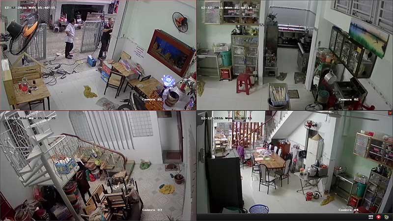 Lắp đặt camera cho cho đình tại TP Vinh Nghệ An