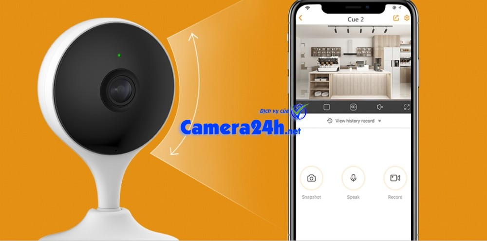 Dahua Imou Cue 2 Wireless Wifi Camera Smart Monitoring AI Human Detection Built in Siren Two